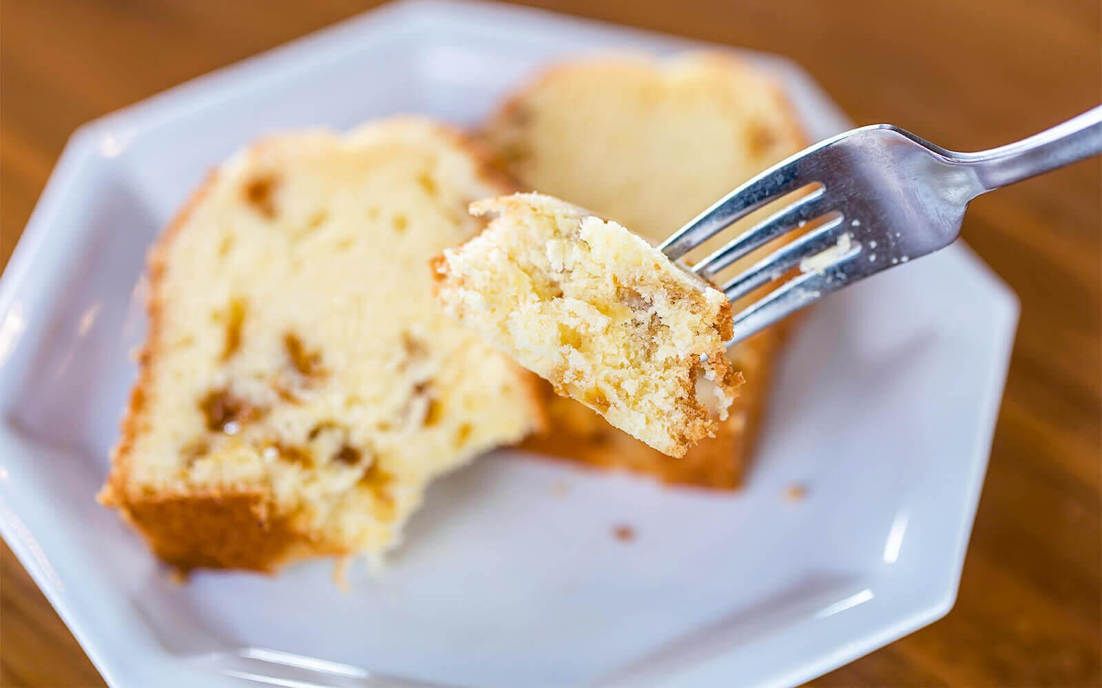 シラヌイドライフルーツを使ったパウンドケーキ イメージ