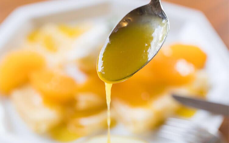 【気軽にアレンジレシピ】 大将季のソースを使ったクレープシュゼット 調理 2